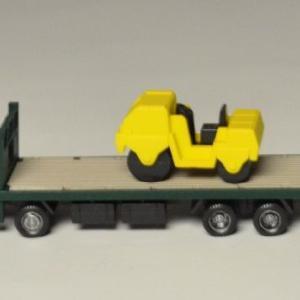 積載重機はロードローラーだ!! トラコレ 第12弾 日野KS 重機運搬車