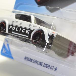 US版 ホットウィール 日産 スカイライン 2000 GTR 警視庁 NISSAN SKYLINE 2000GTR hotwheels ケンメリ パトカー 2019