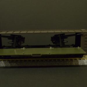 鉄道模型HO U.S.ARMY 61242 貨車の驚きのギミック!!