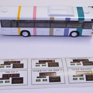 1/80 西日本旅客鉄道バスのミニカー買ってみました。