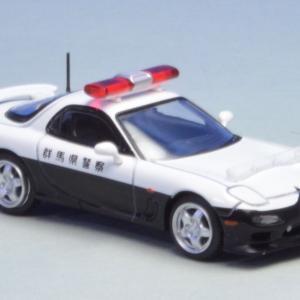 1/64 マツダ RX-7パトロールカー パーツの取り付け完了&墨入れ終了(*^-^*)トミカリミテッド ヴィンテージ ネオ