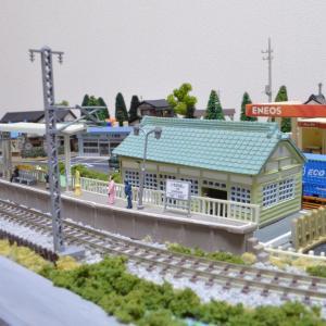 Nジオラマ ローカル駅に駅員配置してみました。