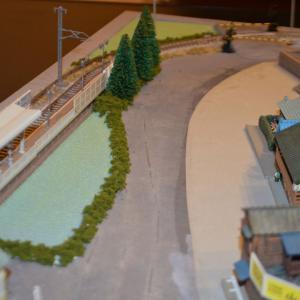 (N)レイアウト製作 駅周辺に田園エリアを追加してみました。