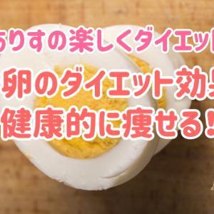 ゆで卵のダイエット効果で健康的に痩せる!~ありすの楽しくダイエット 第12話~