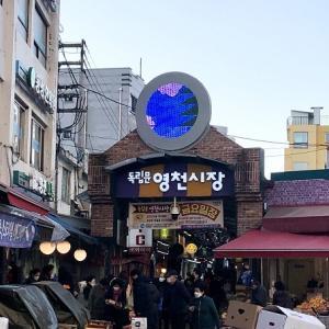 2月のソウル・・・・記憶旅⑧ ヨンチョン市場でカムジャタンを囲む