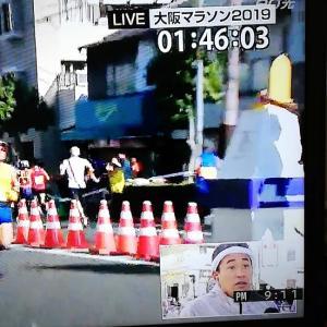 大阪マラソン2019レポ② ビリケンさんとハイジの声