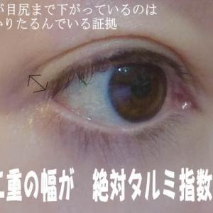 再び眼輪筋のたるみ予防のすすめ!