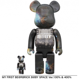 【7月20日抽選販売】MY FIRST BE@RBRICK B@BY SPACE  Ver.100% & 400%、1000%