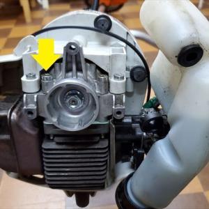 草刈機 STIHL(スチール)FS55C 分解整備 初期点検
