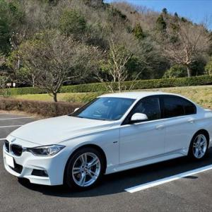 BMW320d F30 3度目の車検間近 販売促進のセールスも大変ですね!