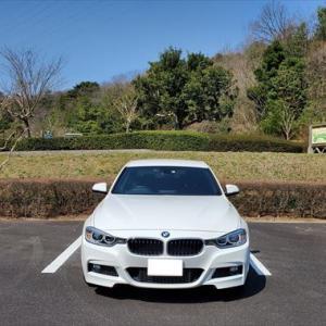 輸入車の維持費 7年経過したBMWの車検費用 BMW 320d F30