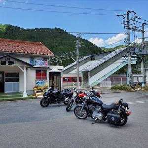 暖かい五月晴れ ビッグバイク3台 GWツーリング