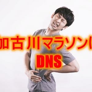 加古川マラソン無念のDNS
