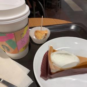 カフェ&旅行準備