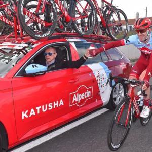 Katusha-Alpecinの解散報道をチームマネージャーが否定