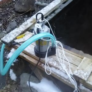 釧路労災のついでに排水用水中ポンプを購入3万円弱