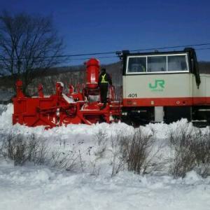 釧網線 除雪排雪機関車出動 明日開通見込み