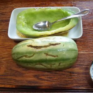 カンロ まくわうりかな 我が家で栽培 メロン味だ 旨い