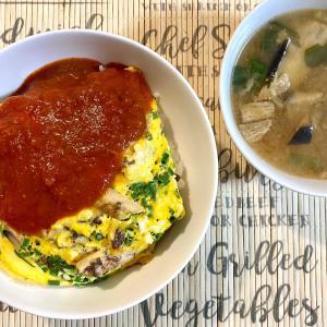 ジャガイモ芽だし🌈魚の缶詰