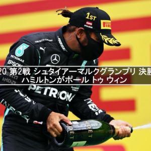 F1 2020 第2戦 シュタイアーマルクグランプリ 決勝結果   ハミルトンがポール トゥ ウィン