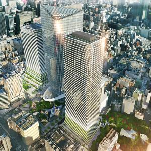 虎ノ門エリアの開発が凄まじいことに – 日本一の高さの住宅棟ができます。
