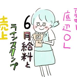 (412)6月手取り公開とラインスタンプ売上!