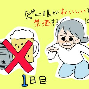 【1日目】ビールがおいしい季節100日間に禁酒する日記