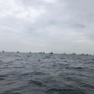 ボート真鯛釣り
