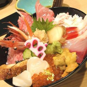 「ひら井」さんの海鮮丼@青草町