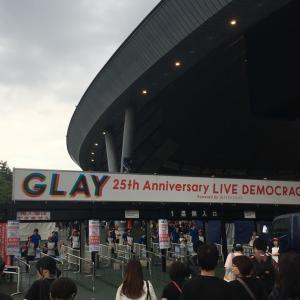8/18 GLAYライブ in 所沢