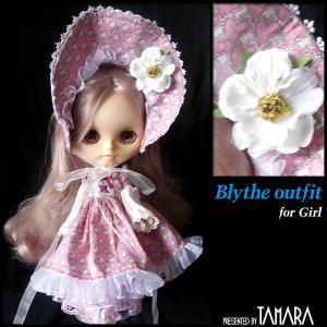 Pink dress for Blythe/ブライスさんのピンクのロリィタ服