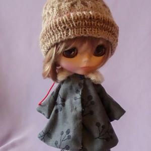Coat and beanie/ブライスさんにコートとニット帽