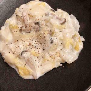 *あさイチで見た白菜のクリーム煮と豚のネギ巻き*