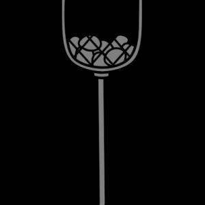 玉入れの運動会用イラスト 白黒フリー素材