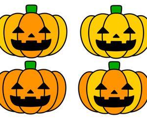ハロウィンのかぼちゃイラスト フリー素材