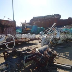2019務安/木浦/珍島⑦ 900番のバスで木浦新港に行き、2014年に沈没し299人の犠牲者を出したセウォル号を間近で見てきた件