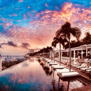 シンガポールにあるホテル、200mの高さからの絶景を見よう!!