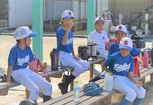 暑いときの野球は…
