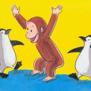 Curious George at the Aquarium|水族館に行った後に読むと子供が喜ぶ英語絵本