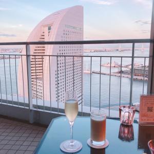 【ホテルレビュー】横浜ベイホテル東急【クラブラウンジ カクテルタイム編】