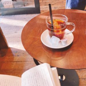 仕事の合間のちょこっとカフェタイムがすき
