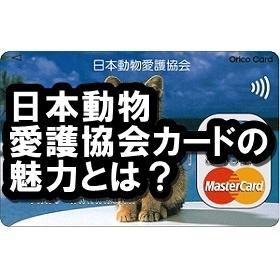 日本動物愛護協会カードのメリットって?社会貢献できる素敵なクレカ!