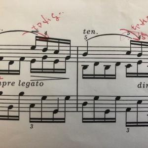 レガート奏法の意地