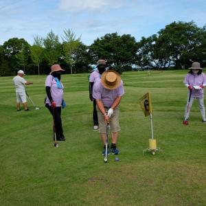 一日遅れの何時もの週初めのグランドゴルフ!