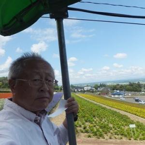 2017年8月3日は旅に出て72日、北海道滞在32日め。