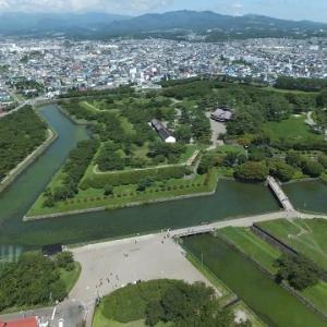 旅に出て91日、北海道49日目は函館朝市に五稜郭タワーを見学。