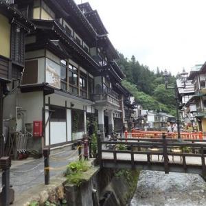 2017年の旅、旅に出て103日目再び山形、銀山温泉へ。