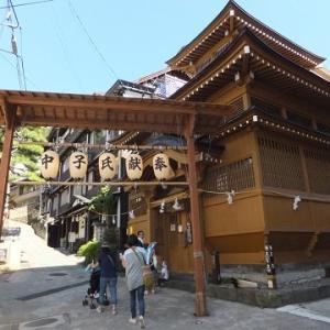 2017年の旅、9月9日は長野県1日目、野沢温泉を散策!。