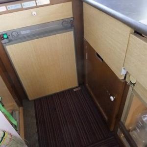 旅から帰ってからの快適化、まだまだ続く、冷蔵庫撤去計画!