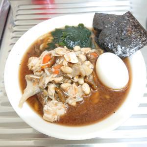 炊飯器調理【きのこの鍋】で味噌ラーメン作った。